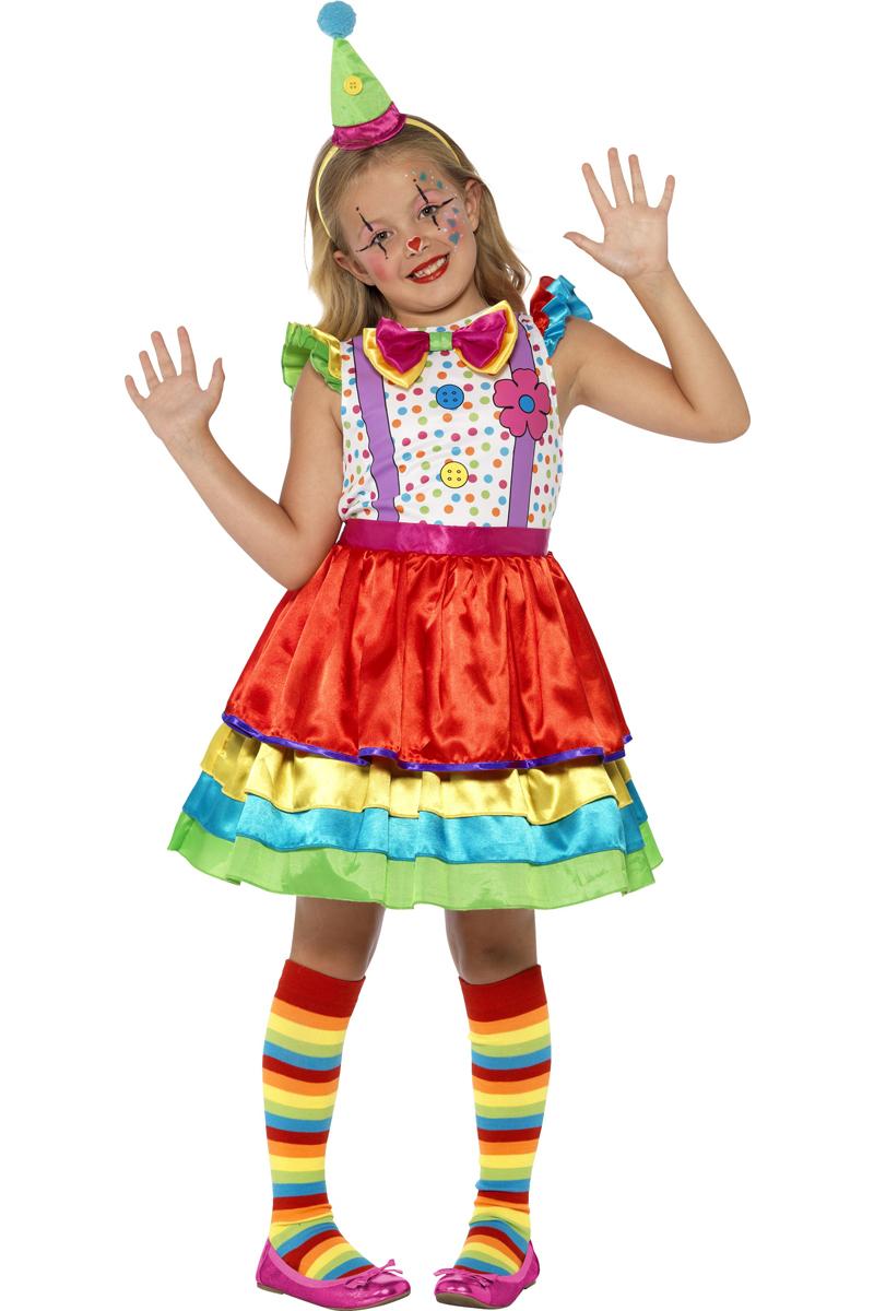 Clown Meisje Kostuum Kids Het Vrolijke Carnavalskostuum