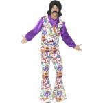 60s Love Hippie Man Kostuum
