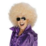 Afro Pruik Mega-Huge Blond