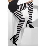 Panty Strepen Wit Zwart