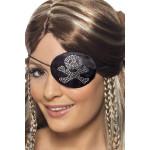 Piraat Ooglap Glitter