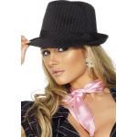 Trilby Gangster Hoed Pink