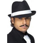 Trilby Gangster Hoed Zwart