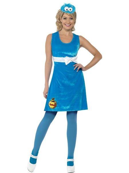 Sesamstraat Cookie Monster Lady