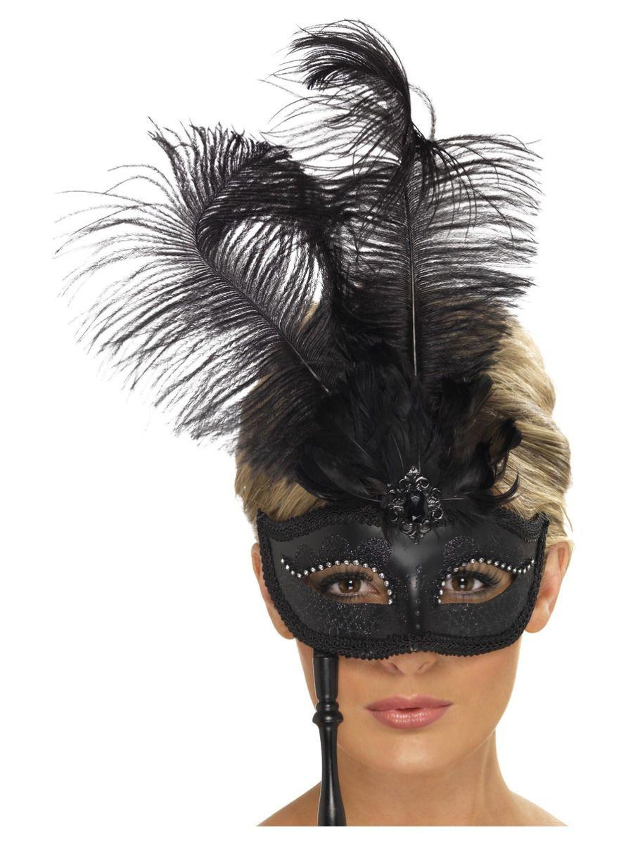 Baroque Masker Zwart