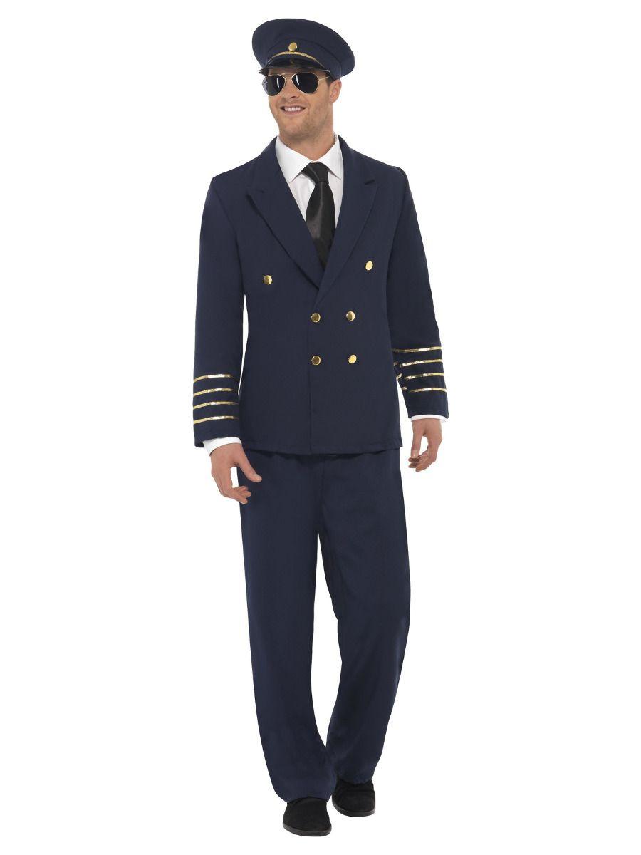 Pilot Man Navy