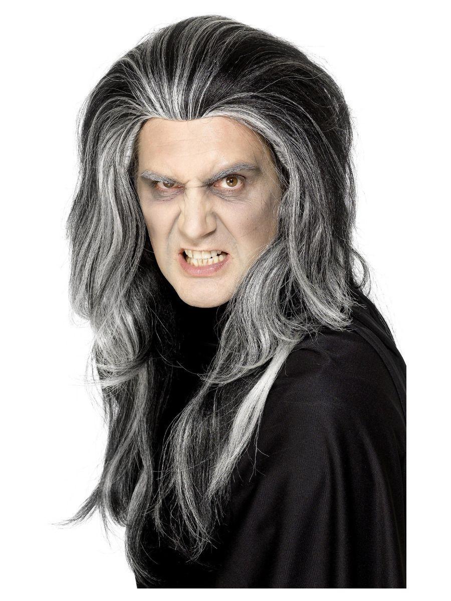 Gothic Vampier Pruik