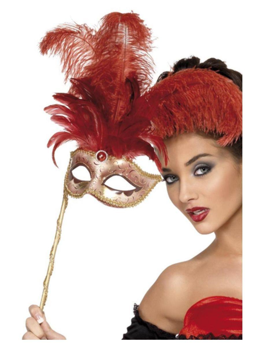 Baroque Masker Rood