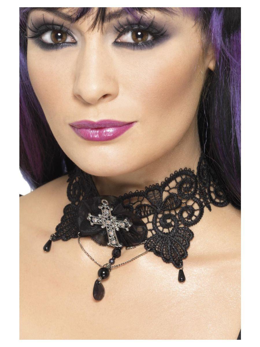 Halsband Gothic Lace