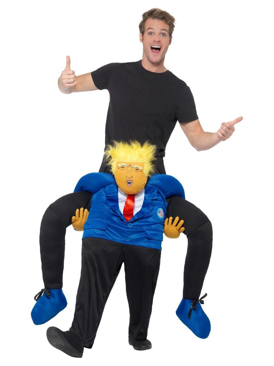 President Piggyback kostuum