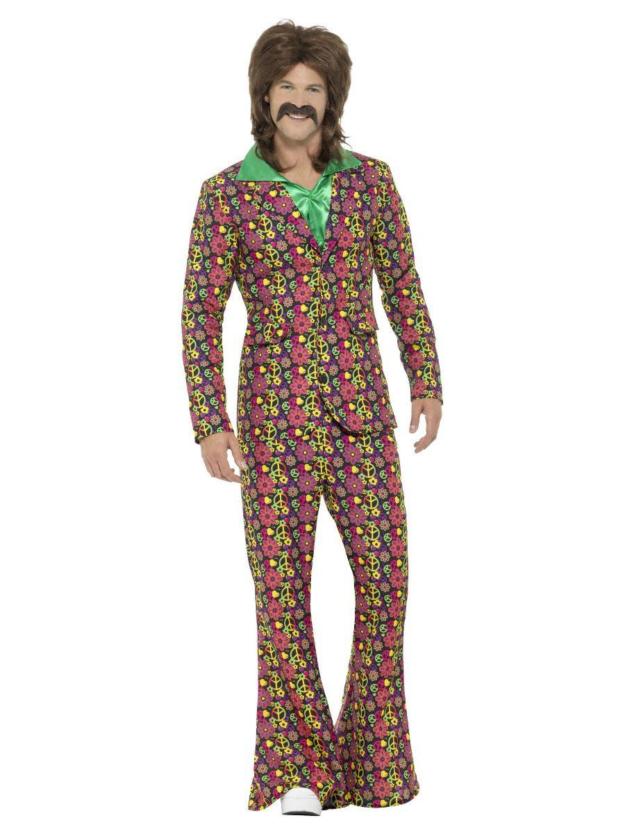 60s CND Hippie Man Kostuum