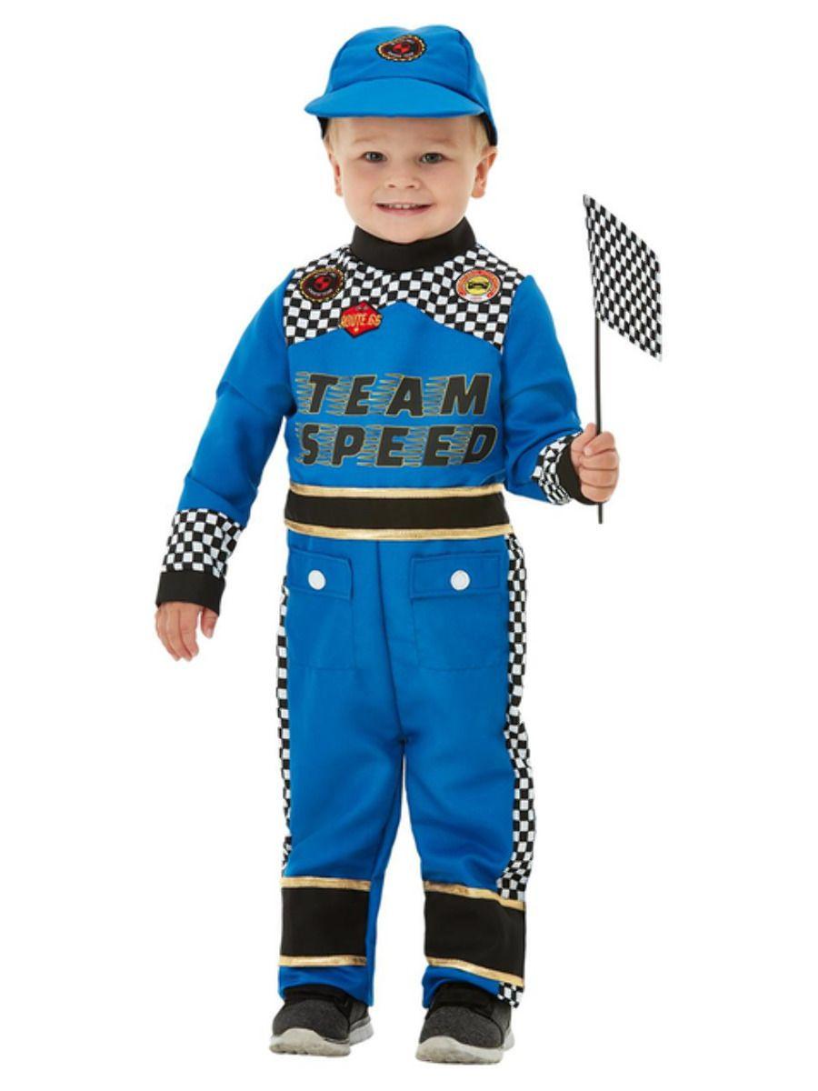 Peuter Race Car Kostuum