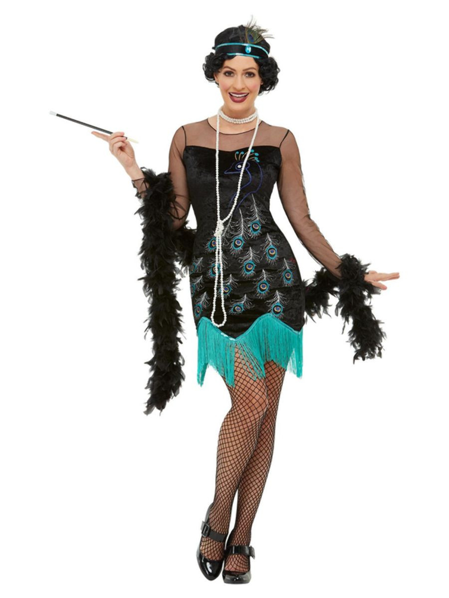 Flapper Peacock