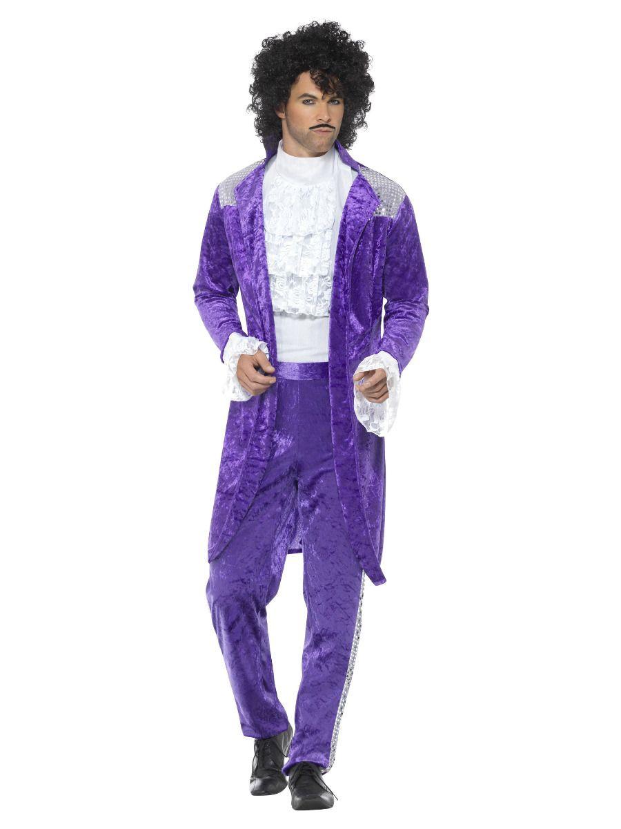 80s Prince Purple Kostuum