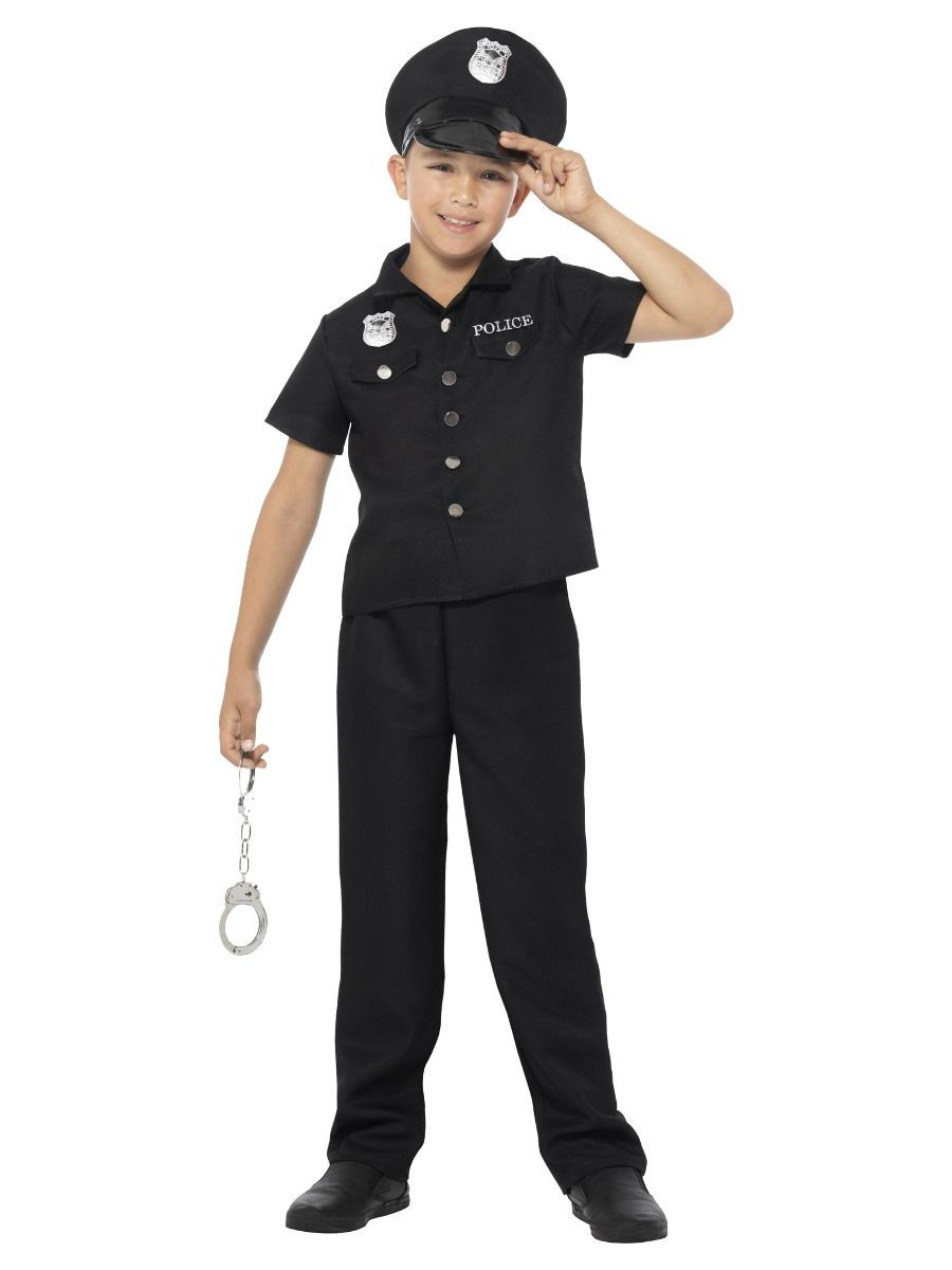 Cop Outfit Kids