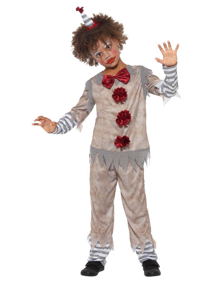 Vintage Clown Boy