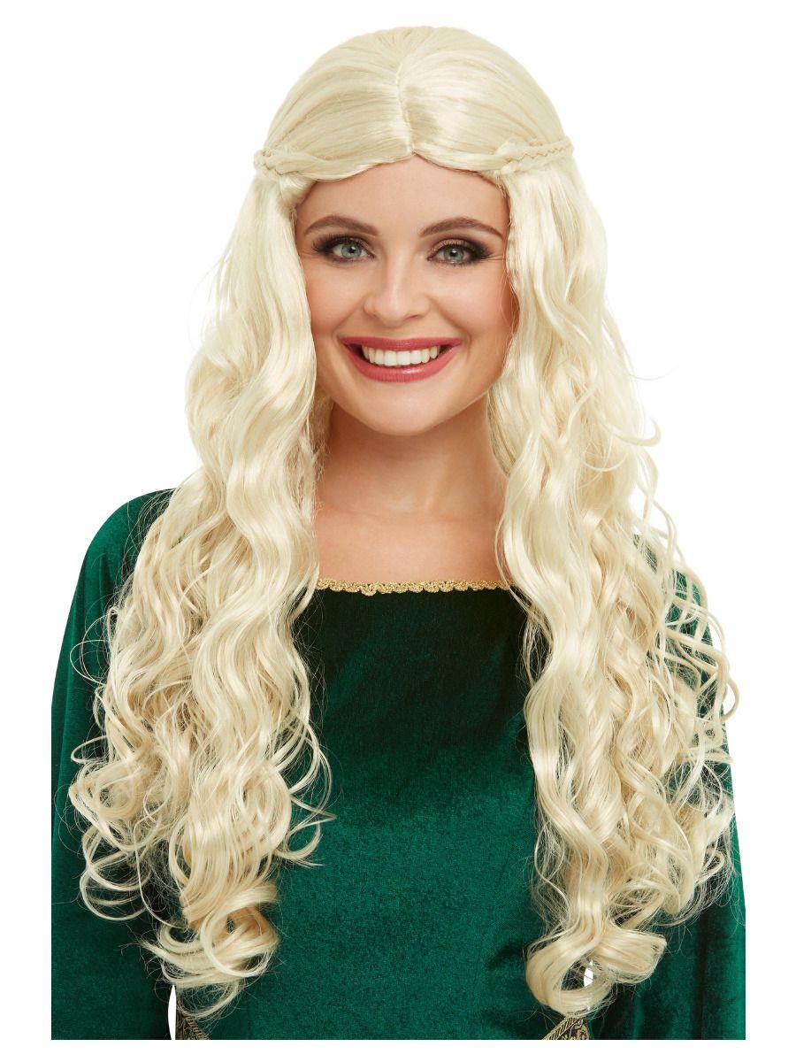 Medieval Pruik Blond