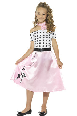50s Poodle Girl Kostuum Kids