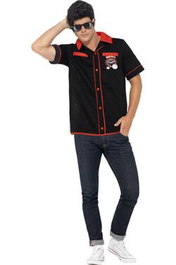 50s Rockabilly Bowling Shirt