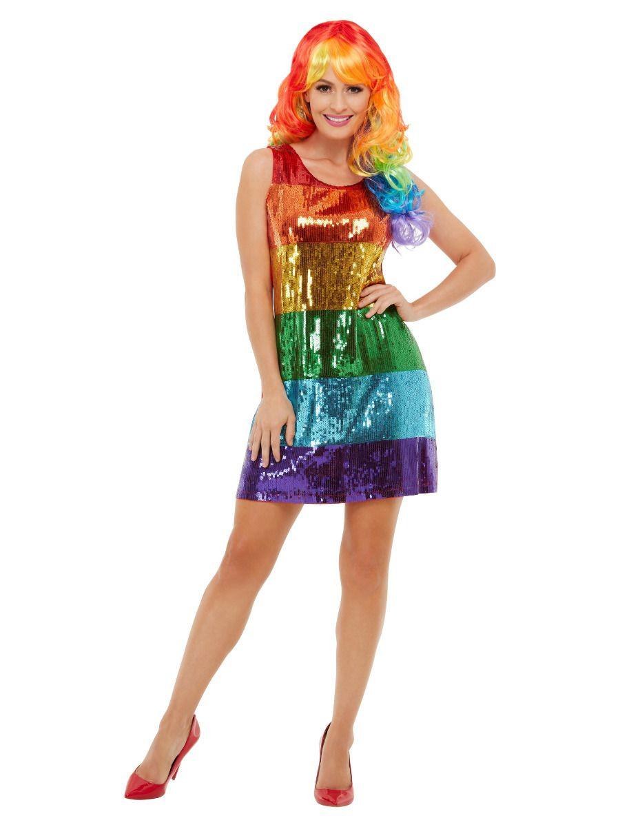 Glitter Rainbow Jurk
