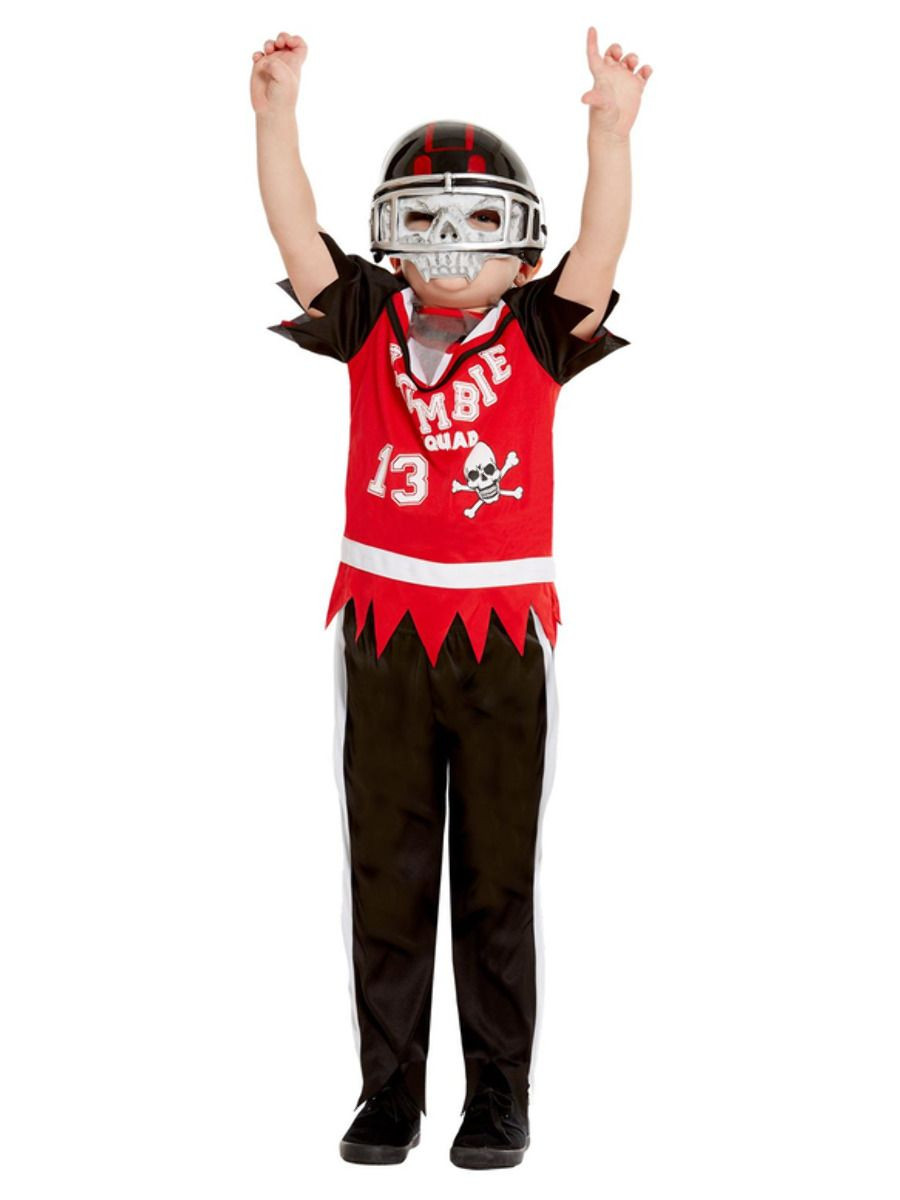 Kids Zombie Squad Football Player