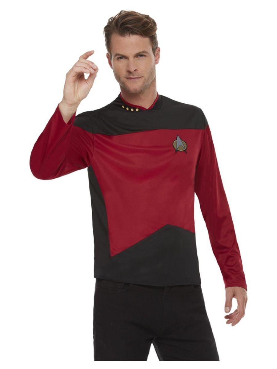 Star Trek Next Generation Maroon Top