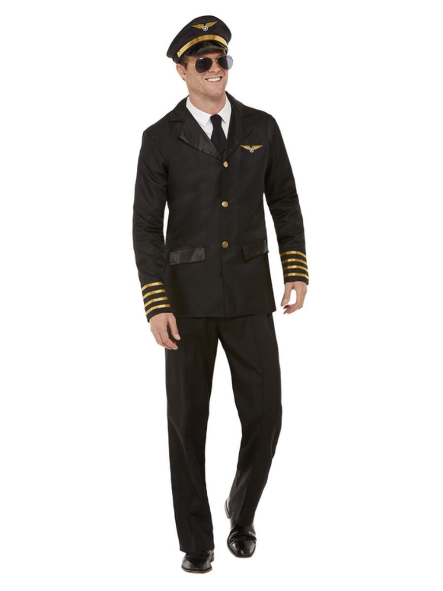 Piloot Man Zwart