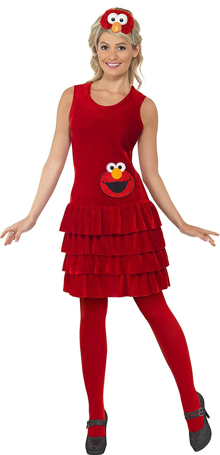 Sesamstraat Elmo Lady