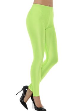 80s Disco Spandex Legging Groen