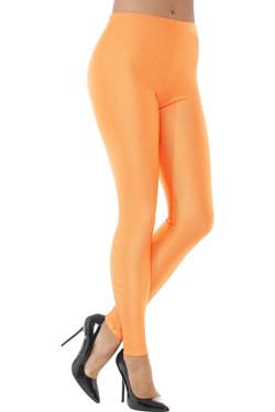 80s Disco Spandex Legging Oranje