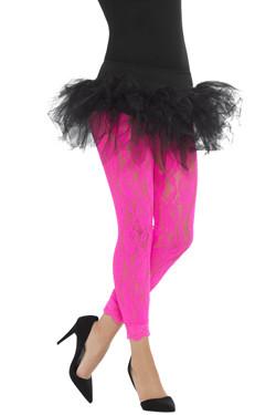 80s Kanten Legging Pink