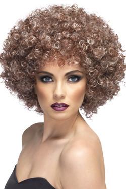 Afro Pruik Natural
