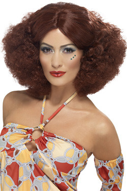 Afro 70s Lady Pruik