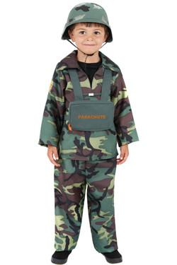 Army Boy Kostuum Kids