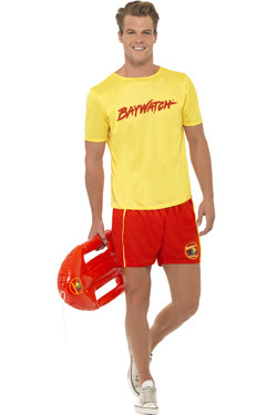 Baywatch Yellow Men