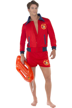 Baywatch Lifeguard man kostuum