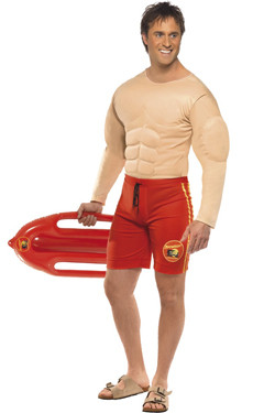 Baywatch Lifeguard Man MC