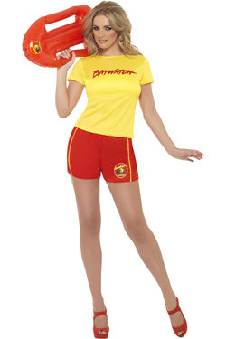 Baywatch Yellow Girl