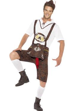 Bierfeest Kostuum Brad Wurst