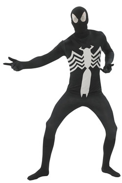 Black Spiderman 2nd Skin