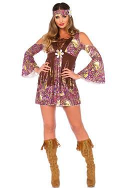 Boho Hippie Dames Kostuum