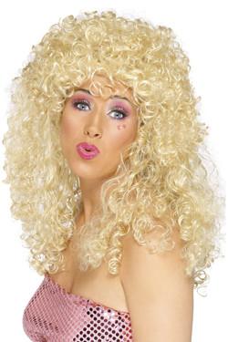Boogie Babe Pruik Blond