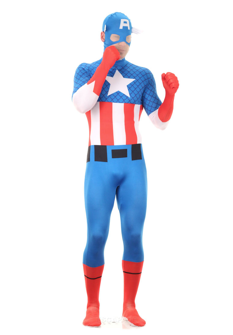 captain America 2nd skin