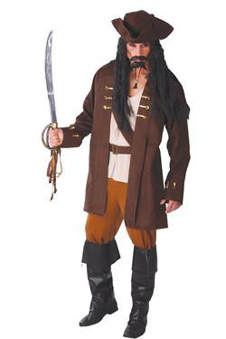 Captain Jack Piraat Kostuum