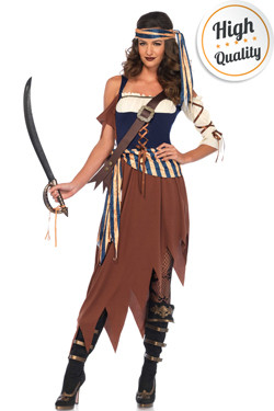 Caribbean Castaway Pirate Jurk