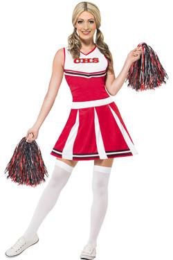 Cheerleader Kostuum Rood