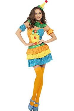 Clown Colourful