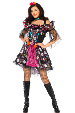 Day of the Dead Doll Jurk