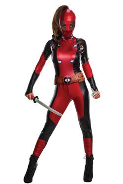 Deadpool Kostuum Dames
