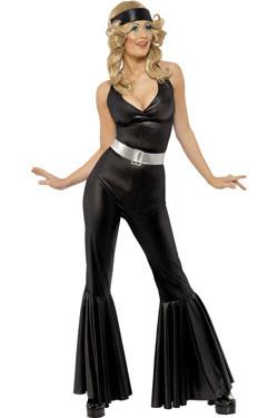 Diva Black Catsuit